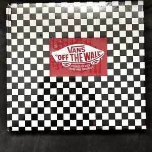 Vans Off The Wall book. Stories of Sole. NEW